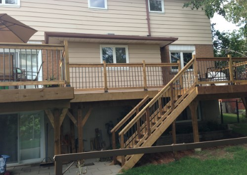 Custom Deck Installations