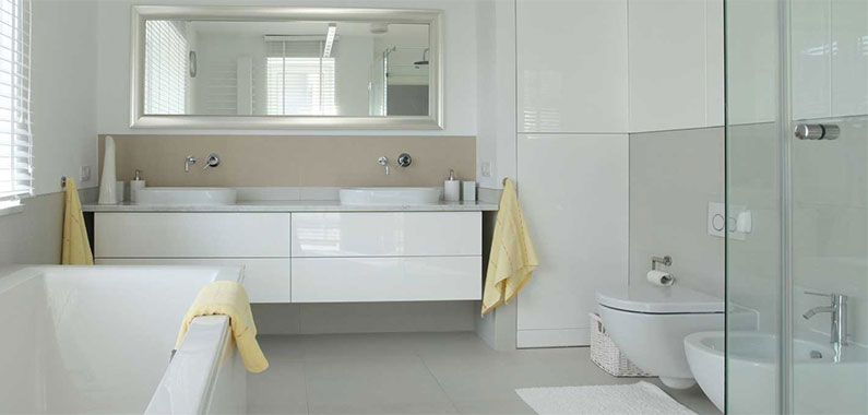 5 easy ways to give your bathroom a new look iremodel for New bathroom looks