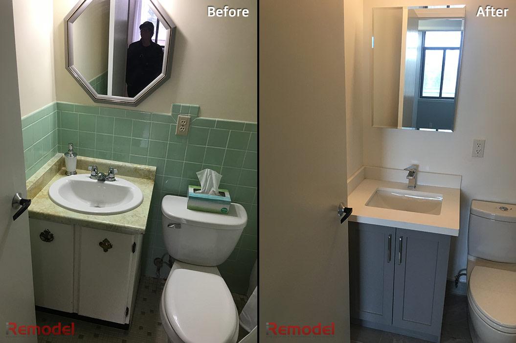 Small Bathroom Vanity Renovation Iremodel