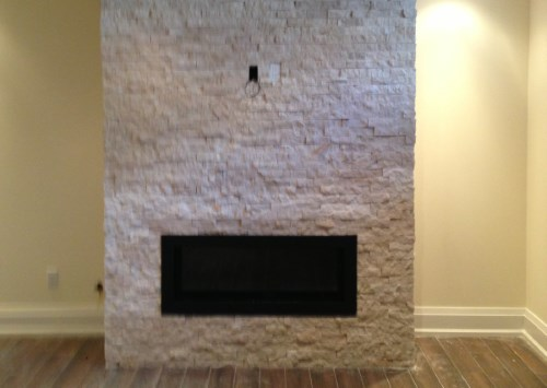 Modern Gas, Wood and Electric Fireplace Renovations