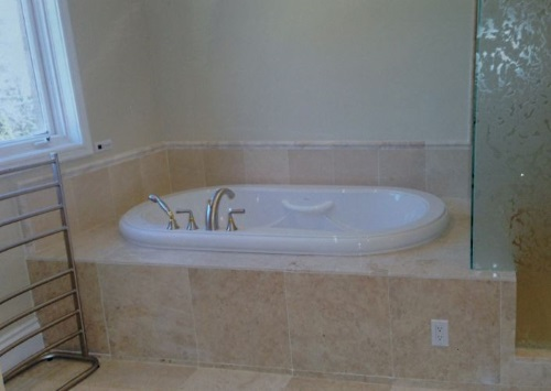 Bathroom Renovation Large Bathtub