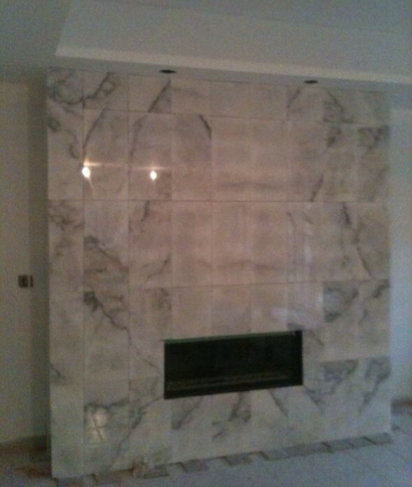 Marble Fireplace Remodeling