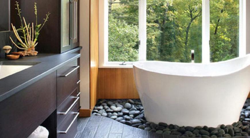Create a Bathroom Spa on a Budget