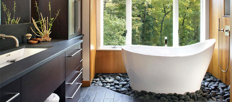 Create a Bathroom Spa on a Budget
