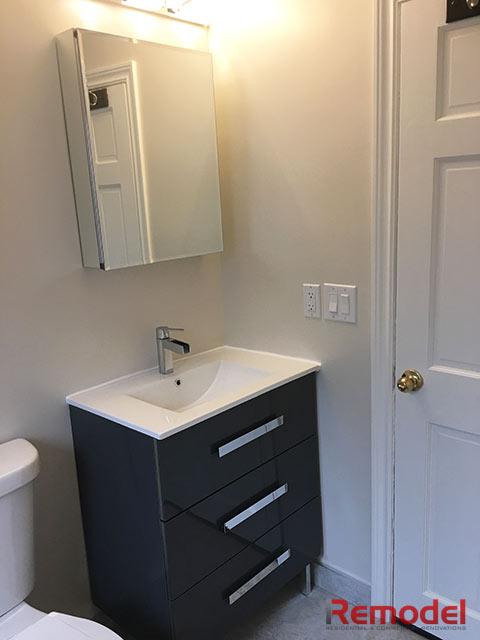bathroom vanity remodel