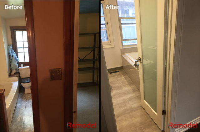 Small Bathroom Renovations Before And After Photo 1