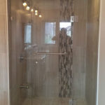 small stand shower bathroom remodel