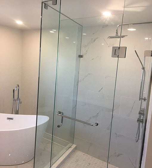 Toronto Full Bathroom Renovation with Bath Tub